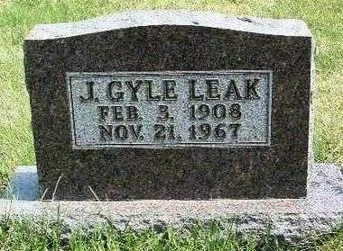 LEAK, J. GYLE - Madison County, Iowa | J. GYLE LEAK