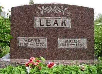 LEAK, WEAVER J. - Madison County, Iowa | WEAVER J. LEAK