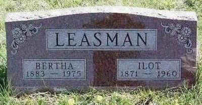 LEASMAN, BERTHA - Madison County, Iowa | BERTHA LEASMAN