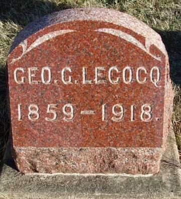 LECOCQ, GEORGE C. - Madison County, Iowa | GEORGE C. LECOCQ