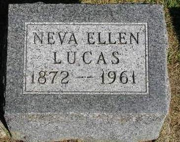 LUCAS, NEVA ELLEN - Madison County, Iowa | NEVA ELLEN LUCAS