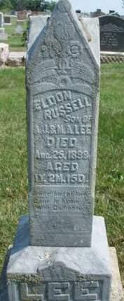 LEE, ELDON RUSSELL - Madison County, Iowa | ELDON RUSSELL LEE