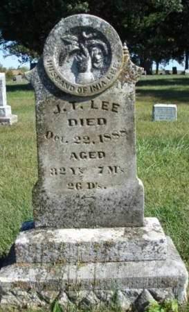 LEE, JOHN T. - Madison County, Iowa   JOHN T. LEE