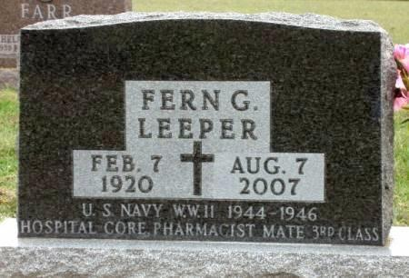 LEEPER, FERN JOSEPHINE - Madison County, Iowa | FERN JOSEPHINE LEEPER