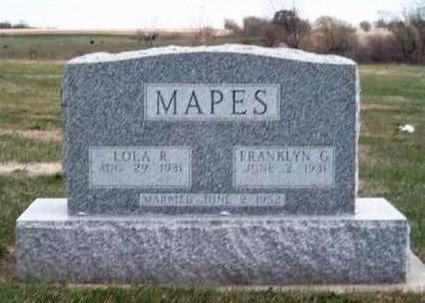 LEEPER MAPES, LOLA RUTH - Madison County, Iowa   LOLA RUTH LEEPER MAPES