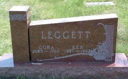 LEGGETT, CORA - Madison County, Iowa | CORA LEGGETT