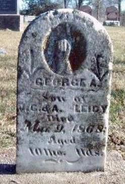 LEIDY, GEORGE A. - Madison County, Iowa | GEORGE A. LEIDY