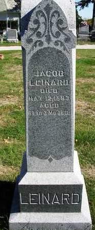 LEINARD, JACOB - Madison County, Iowa   JACOB LEINARD
