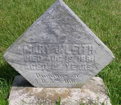 LEITH, MARY J. - Madison County, Iowa | MARY J. LEITH