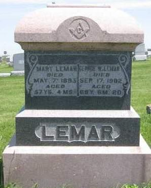 LEMAR, MARY - Madison County, Iowa | MARY LEMAR