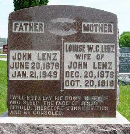 LENZ, JOHN - Madison County, Iowa | JOHN LENZ