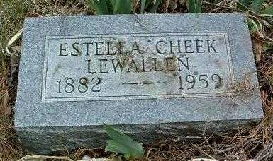 SHREVES LEWALLEN, ESTELLA MAY (STELLA) - Madison County, Iowa | ESTELLA MAY (STELLA) SHREVES LEWALLEN
