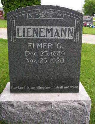LIENEMANN, ELMER GERHARDT - Madison County, Iowa | ELMER GERHARDT LIENEMANN