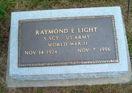 LIGHT, RAYMOND E - Madison County, Iowa | RAYMOND E LIGHT