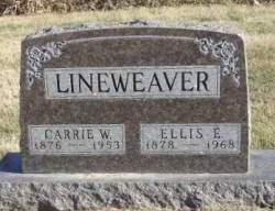 BECK LINEWEAVER, CARRIE WILHEMINA - Madison County, Iowa | CARRIE WILHEMINA BECK LINEWEAVER