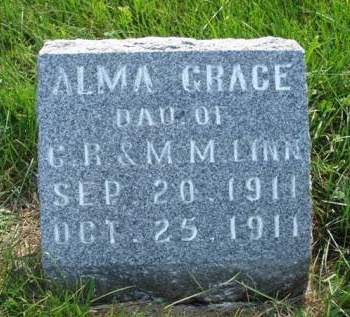 LINN, ALMA GRACE - Madison County, Iowa | ALMA GRACE LINN