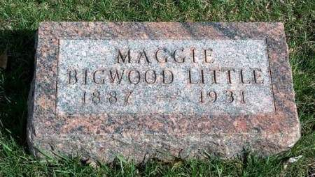 BIGWOOD LITTLE, MARGARET (MAGGIE) - Madison County, Iowa | MARGARET (MAGGIE) BIGWOOD LITTLE