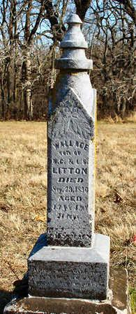 LITTON, WALLACE - Madison County, Iowa | WALLACE LITTON