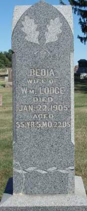 LODGE, BEHELDAN (BEDIA) - Madison County, Iowa | BEHELDAN (BEDIA) LODGE