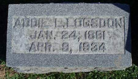 LOGSDON, ADA LENORE (ADDIE) - Madison County, Iowa | ADA LENORE (ADDIE) LOGSDON