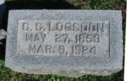 LOGSDON, CHRISTOPHER COLUMBUS - Madison County, Iowa | CHRISTOPHER COLUMBUS LOGSDON