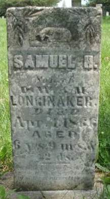 LONGINAKER, SAMUEL H. - Madison County, Iowa | SAMUEL H. LONGINAKER