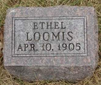 LOOMIS, ETHEL - Madison County, Iowa | ETHEL LOOMIS
