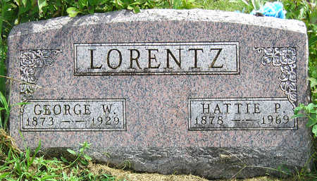 LORENTZ, GEORGE WILLIAM - Madison County, Iowa | GEORGE WILLIAM LORENTZ