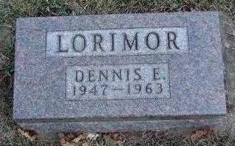 LORIMOR, DENNIS EVANS - Madison County, Iowa | DENNIS EVANS LORIMOR