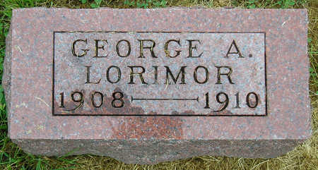 LORIMOR, GEORGE ALBERT - Madison County, Iowa | GEORGE ALBERT LORIMOR