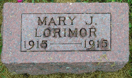 LORIMOR, MARY J. - Madison County, Iowa | MARY J. LORIMOR