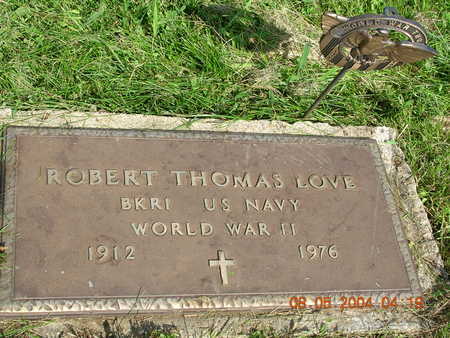 LOVE, ROBERT THOMAS - Madison County, Iowa | ROBERT THOMAS LOVE