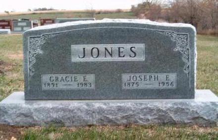 LOWDEN JONES, GRACIE ELIZABETH - Madison County, Iowa | GRACIE ELIZABETH LOWDEN JONES