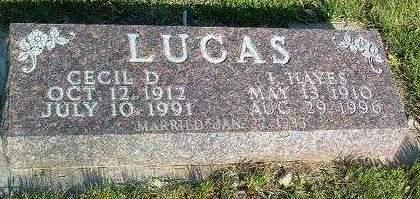LUCAS, CECIL DORIS - Madison County, Iowa | CECIL DORIS LUCAS