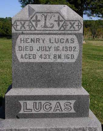 LUCAS, HENRY - Madison County, Iowa | HENRY LUCAS