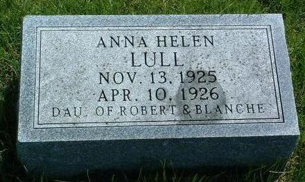 LULL, ANNA HELEN - Madison County, Iowa | ANNA HELEN LULL