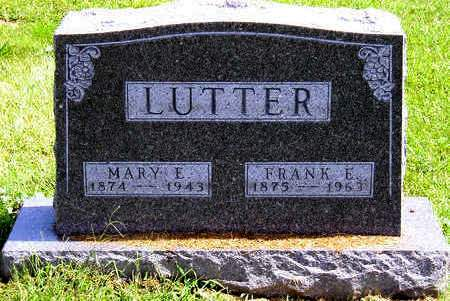 LUTTER, FRANK EDWARD - Madison County, Iowa | FRANK EDWARD LUTTER