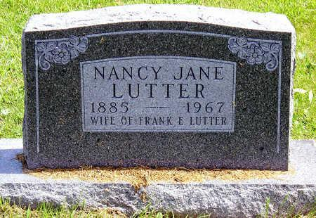 LUTTER, NANCY JANE (JENNIE) - Madison County, Iowa | NANCY JANE (JENNIE) LUTTER