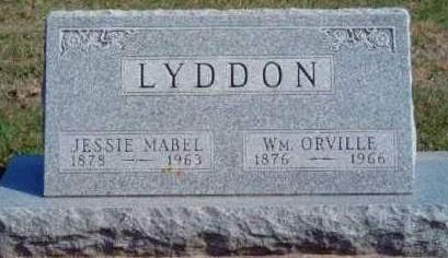 LYDDON, JESSIE MABEL - Madison County, Iowa | JESSIE MABEL LYDDON
