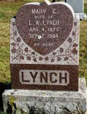 LYNCH, MARY E. - Madison County, Iowa | MARY E. LYNCH