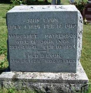 LYON, JOHN - Madison County, Iowa | JOHN LYON