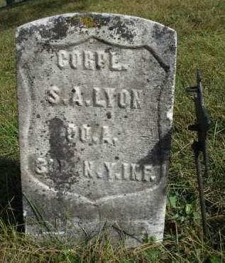 LYON, SEPTIMUS ALEXANDER - Madison County, Iowa | SEPTIMUS ALEXANDER LYON