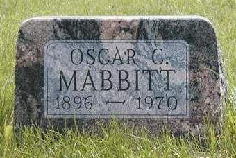MABBITT, OSCAR C. - Madison County, Iowa | OSCAR C. MABBITT