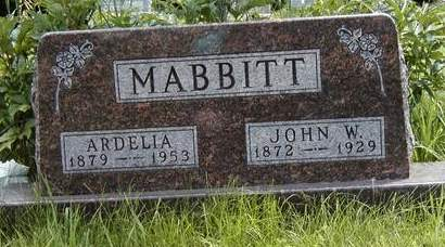 MABBITT, ARDELIA - Madison County, Iowa | ARDELIA MABBITT