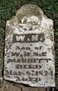 MABBITT, WILLIAM H. - Madison County, Iowa | WILLIAM H. MABBITT