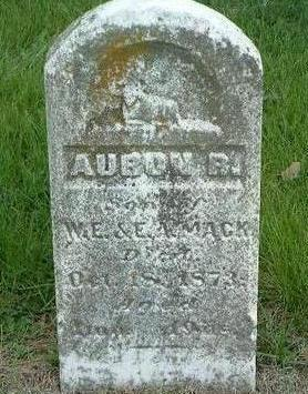 MACK, AURON R. - Madison County, Iowa | AURON R. MACK