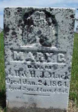 MACK, MARY CATHERINE - Madison County, Iowa | MARY CATHERINE MACK
