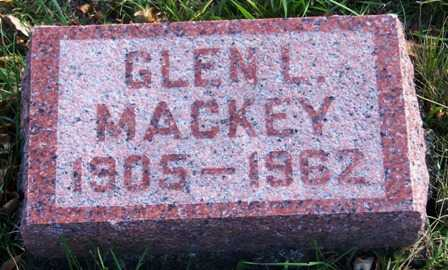 MACKEY, GLEN L. - Madison County, Iowa | GLEN L. MACKEY