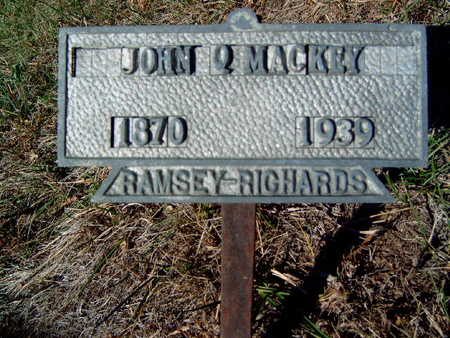 MACKEY, JOHN QUINCY - Madison County, Iowa | JOHN QUINCY MACKEY