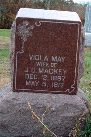 MACKEY, VIOLA MAY - Madison County, Iowa | VIOLA MAY MACKEY